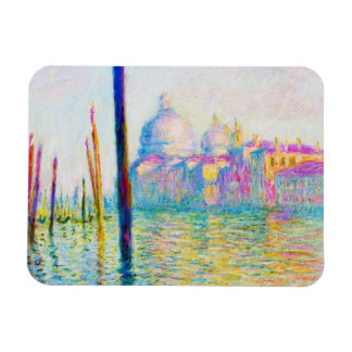 The Grand Canal in Venice Claude Monet Rectangular Photo Magnet