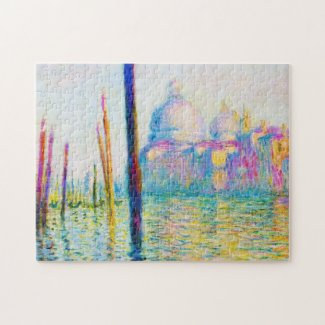 The Grand Canal in Venice Claude Monet Puzzle