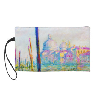 The Grand Canal in Venice Claude Monet Wristlet