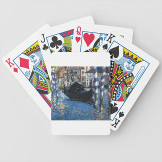 The grand canal of Venice (Blue Venice) by Edouard Bicycle Playing Cards