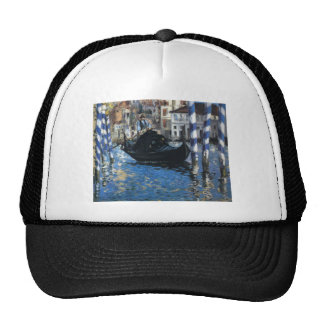 The grand canal of Venice by Edouard Manet Trucker Hat