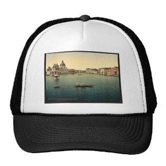 The Grand Canal, Santa Maria della Salute, Venice, Trucker Hat
