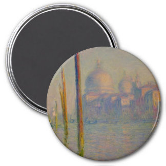 The Grand Canal, Venice 3 Inch Round Magnet
