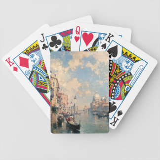 The Grand Canal, Venice by Franz Richard Bicycle Playing Cards
