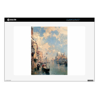 The Grand Canal, Venice by Franz Richard Decal For Laptop