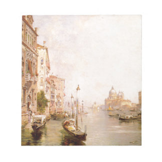 The Grand Canal, Venice by Franz Richard Notepad