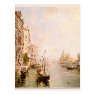 The Grand Canal, Venice by Franz Richard Postcard