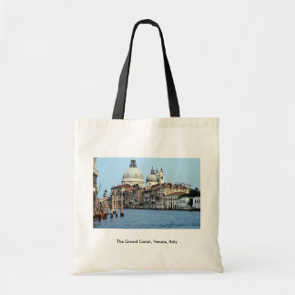 The Grand Canal Venice Italy Canvas Bag