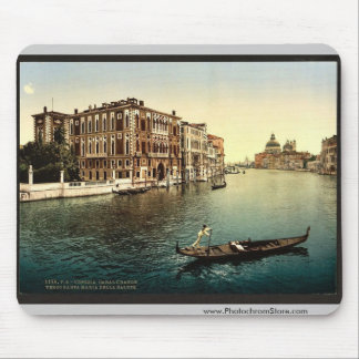 The Grand Canal, view I, Venice, Italy vintage Pho Mouse Pad