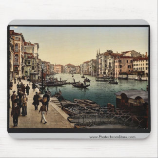 The Grand Canal, view II, Venice, Italy vintage Ph Mouse Pad