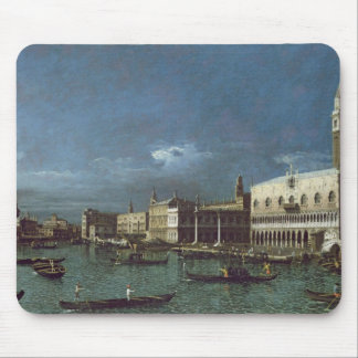 The Grand Canal with the Church of Santa Maria Mouse Pad