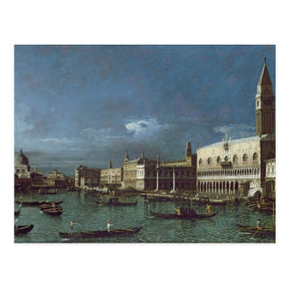 The Grand Canal with the Church of Santa Maria Postcard