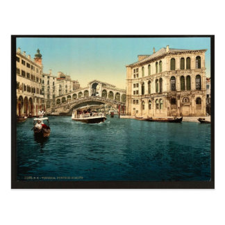 The Grand Canal with the Rialto Bridge Venice It Post Cards