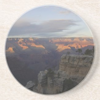 The Grand Canyon at Sunset Drink Coaster