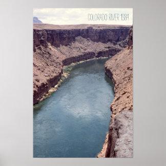 The Grand Canyon Colorado River Rocky Arizona Poster
