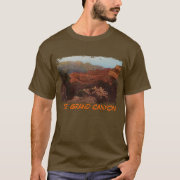 The Grand Canyon Painted Men's Shirt