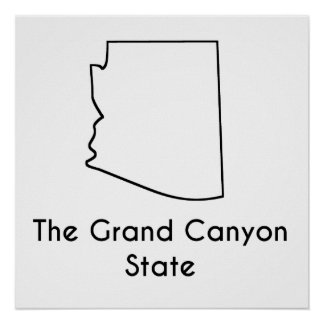 The Grand Canyon State Poster