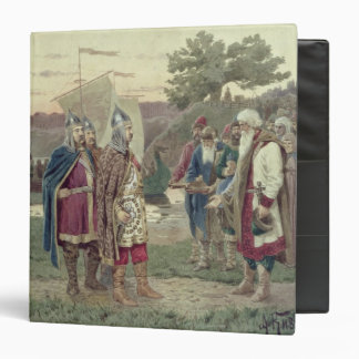 The Grand Duke Meeting with the People Vinyl Binder