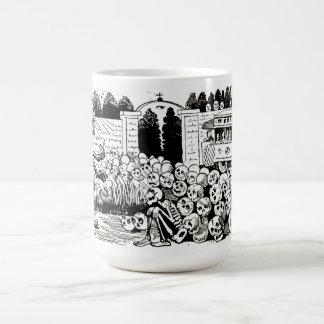 The Grand Electric Skull cup Classic White Coffee Mug