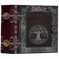 The Grand Grimoire Witches Book Of Shadows Binder