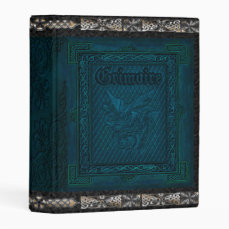 The Grand Grimoire Witches Book Of Shadows Mini Binder