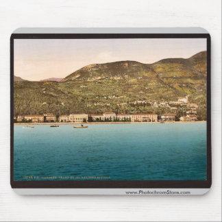 The Grand Hotel, Gardone, Garda, Lake of, Italy vi Mouse Pad
