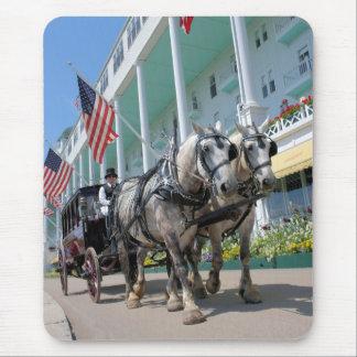 The Grand Hotel - Mackinac Island, Michigan Mouse Pad