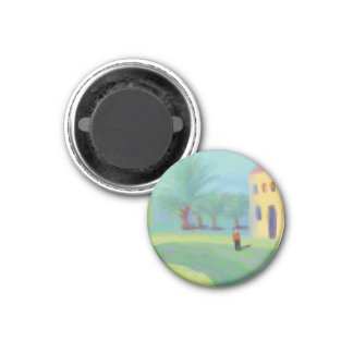 The Grand House 1 Inch Round Magnet