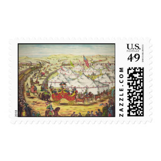 The Grand Lay-Out Postage Stamp