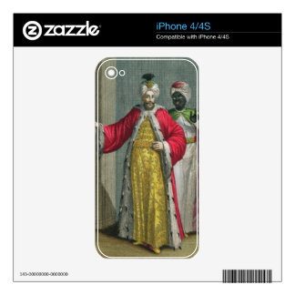 The Grand Lord, in his seraglio with the Kislar Ag iPhone 4 Skins