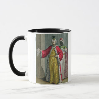 The Grand Lord, in his seraglio with the Kislar Ag Mug