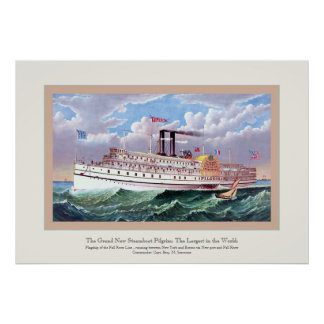 The Grand New Steamboat Poster