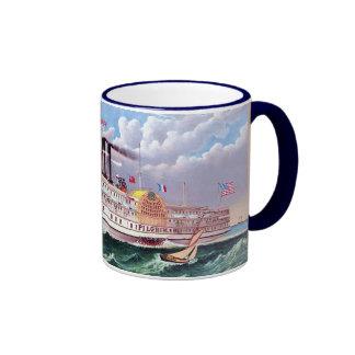 The Grand New Steamboat Ringer Mug