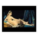 The Grand Odalisque 1814 Jean Auguste Dominique Postcard