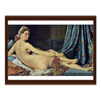 The Grand Odalisque,  By Ingres Jean Auguste Domin Post Cards