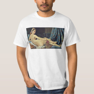 The Grand Odalisque,  By Ingres Jean Auguste Domin T-Shirt