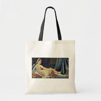 The Grand Odalisque,  By Ingres Jean Auguste Domin Tote Bag
