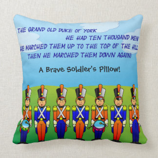 The Grand Old Duke of York - 7 Soldiers Pillow
