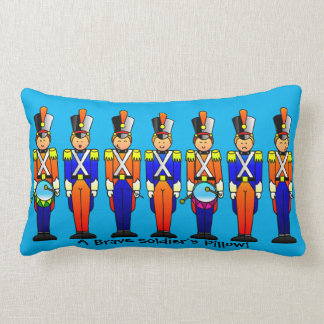 The Grand Old Duke of York - 7 Soldiers Throw Pillow