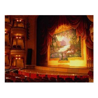 The Grand Opera House, southern Texas, U.S.A. Postcard