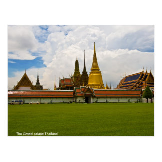 The Grand palace Thailand Postcard