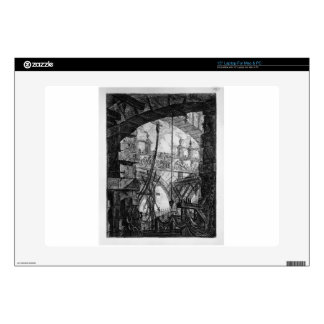 The Grand Piazza by Giovanni Battista Piranesi Decals For Laptops