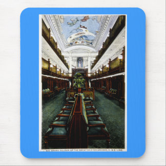 The Grand Saloon of the Great Ship Seeandbee, C&B Mouse Pad