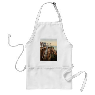 The Grand Staircase, Helgoland, Germany classic Ph Adult Apron