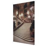 The Grand Staircase of the Opera-Garnier Canvas Print