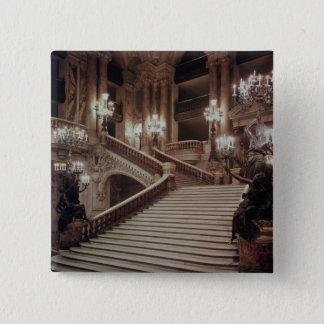 The Grand Staircase of the Opera-Garnier Pinback Button