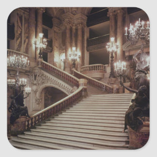 The Grand Staircase of the Opera-Garnier Square Sticker