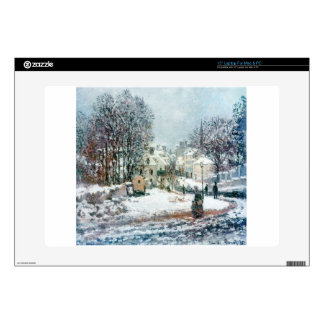 "The Grand Street Entering to Argenteuil, Winter Skin For 15"" Laptop"