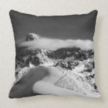 The Grand Teton and the cathedral group as Throw Pillow