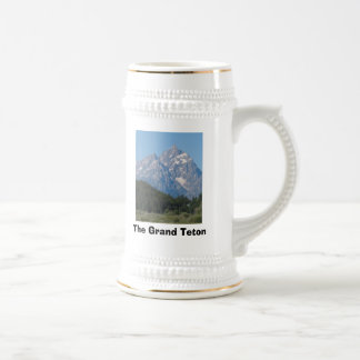 The Grand Teton Beer Stein